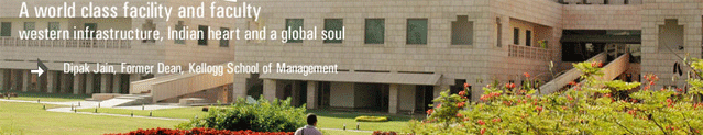 Indian Business School full-time MBA program