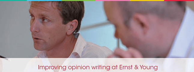 Improving Opinion Writing at Ernst & Young - Emphasis Case Study