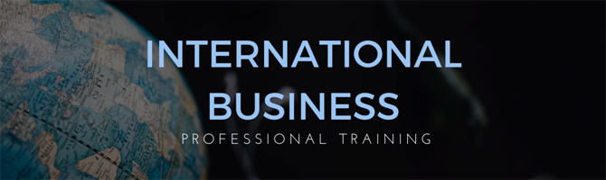 Professional Training Courses in International Business